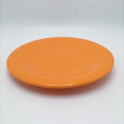 Plato de Postre Hibisco Naranja VARAGE