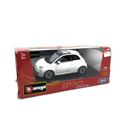 BBURAGO 1:24 FIAT 500 2007