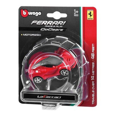 RACE & PLAY FERRARI 1:64 GOGEARS AUTO