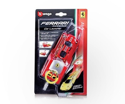 FERRARI RACE & PLAY CAR 1:64 LAUNCHER C/SONIDO