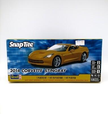 REVELL SNAPTITE AUTO CORVETT STINGRAY 2014 1:25