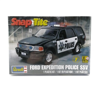 REVELL SNAPTITE AUTO FORD EXPEDITION POLICE 1:25