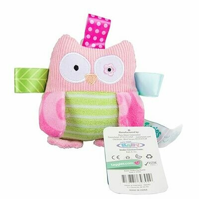Taggies Oodles Owl Rattle