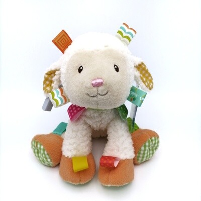 Taggies Sherbet Lamb Soft Toy