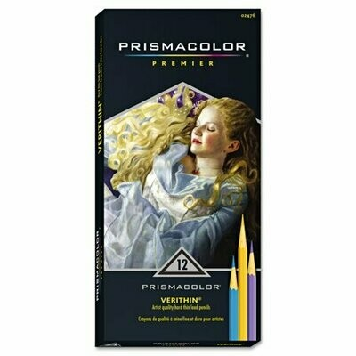 LAPIZ DE COLOR x12 VERITHIN PREM PRISMACOLOR