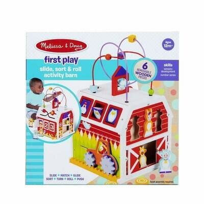 30128-ME FIRST PLAY SLIDE, SORT & ROLL ACTIVITY BA