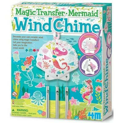 MAGIC TRANSFER MERMAID WIND CHIME 4M
