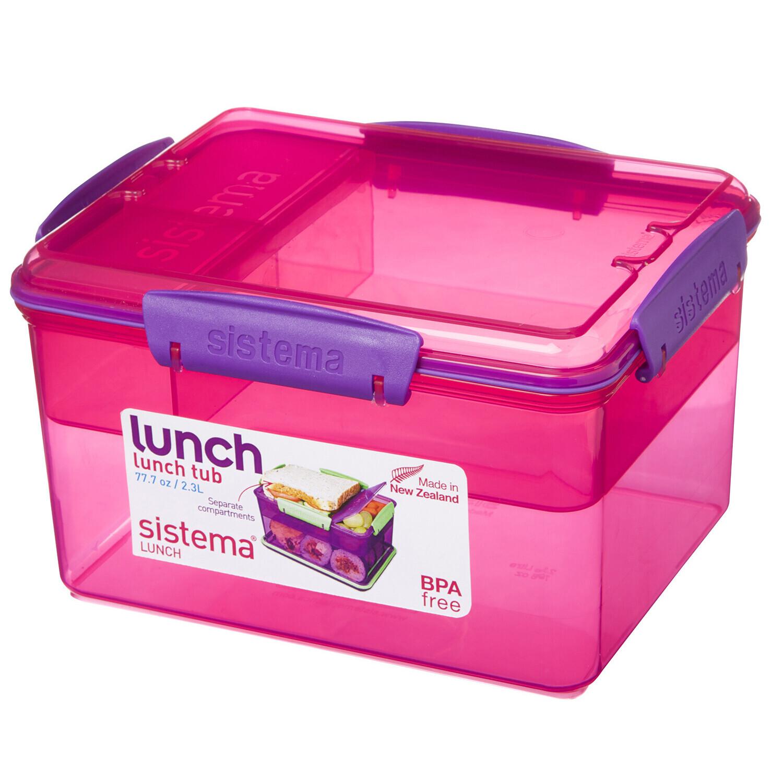 BENTO BOX TO GO 2.3LT 19.7X15.8X11.5CM SISTEMA