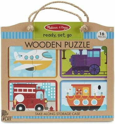 41361-ME WOODEN PUZZLE - READY, SET, GO