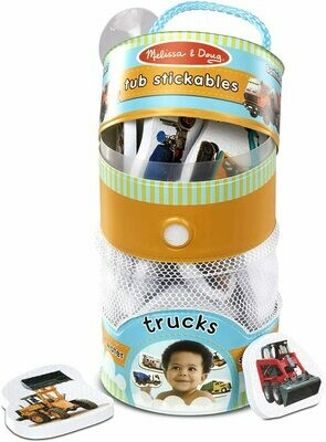31402-ME TUB STICKABLES - TRUCKS