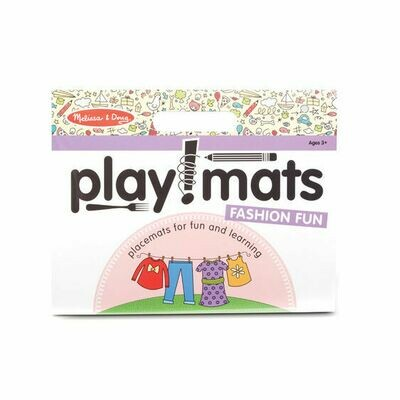 31433-ME PLAYMATS - FASHION FUN