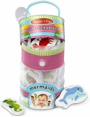 31400-ME TUB STICKABLES - MERMAIDS