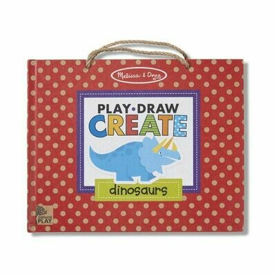 41321-ME REUSABLE DRAWING AND MAGNET KIT - DINOSAU