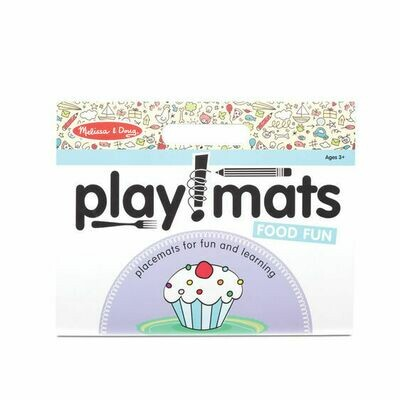31432-ME PLAYMATS - FOOD FUN