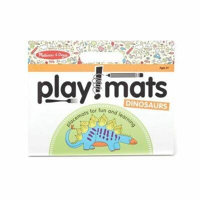 31435-ME PLAYMATS - DINOSAURS