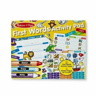 30530-ME FIRST WORDS ACTIVITY PAD