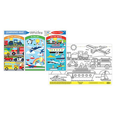 5046-ME VEHICLES LEARNING MAT