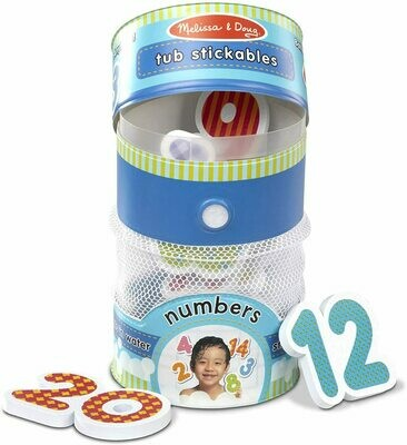 31403-ME TUB STICKABLES - NUMBERS