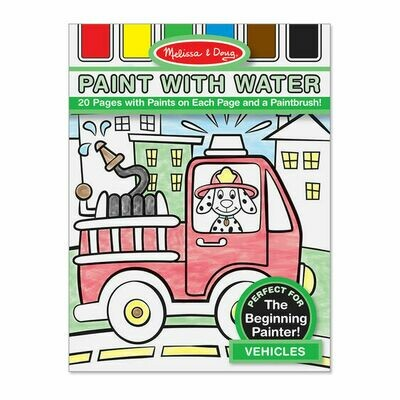 4164-ME PAINT WITH WATER - VEHICLES