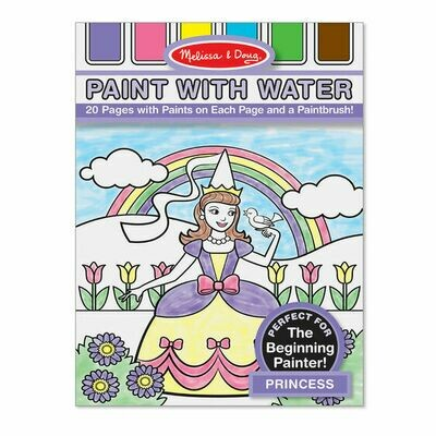 4166-ME PAINT WITH WATER - PRINCESS