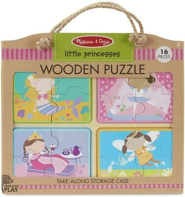 31365-ME NP WOODEN PUZZLE: LITTLE PRINCESS