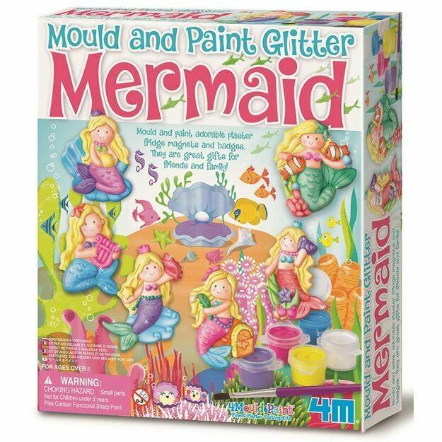 MOULD & PAINT / GLITTER MERMAID 4M