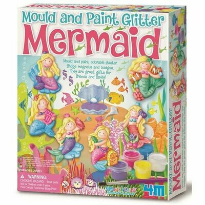 MOULD & PAINT / GLITTER MERMAID 4M