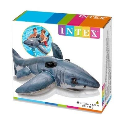 INTEX FLOTADOR ANIMAL TIBURON 173 X 107CM