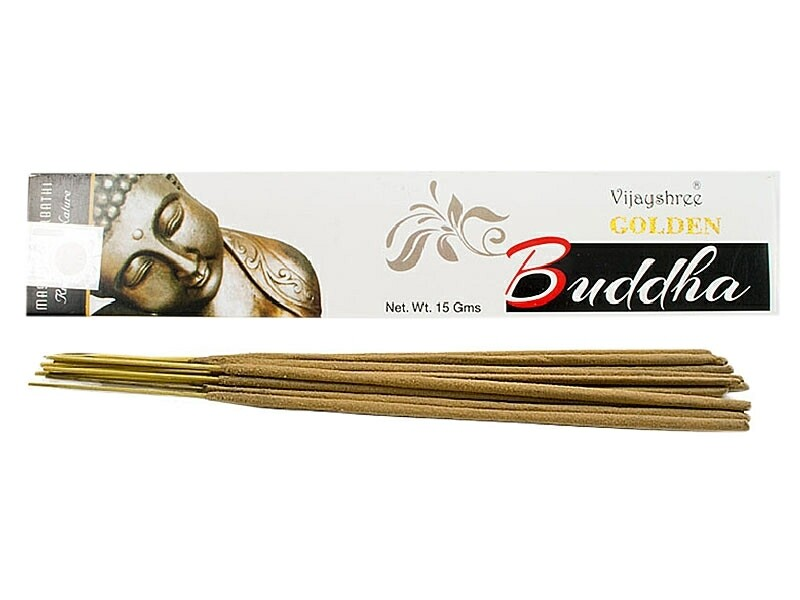 INCIENSO 15GR VIJA GOLDEN BUDDHA