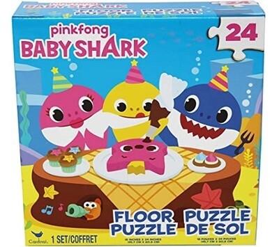 BABY SHARK ROMPECABEZAS DE PISO 24