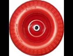 Колесо к 4 80-8 PU 400 мм ППУ пенополиуретан (красн/синие)