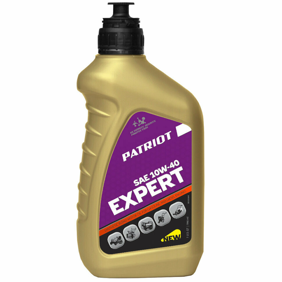 Масло Patriot EXPERT HIGH-TECH  10W40 0.946л