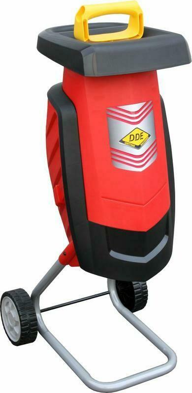 Измельчитель садовый DDE SH2540 Вомбат 2500Вт, 3650об/мин, до 40 мм, колёса, 11.9 кг
