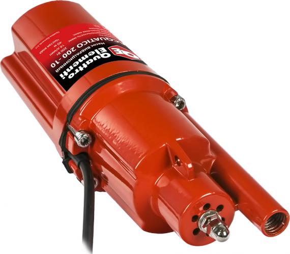 Насос вибрационный QUATTRO ELEMENTI Acquatico 200-10 (200Вт, 960л/ч, для чистой, 40м, 2,4кг, кабель 10м) 910-317