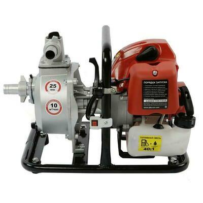 "Мотопомпа бензиновая DDE WP250 (вых 25 мм/1"" дв 43 см3/1,9 л.c. выс 45 м 10 м3/час)"