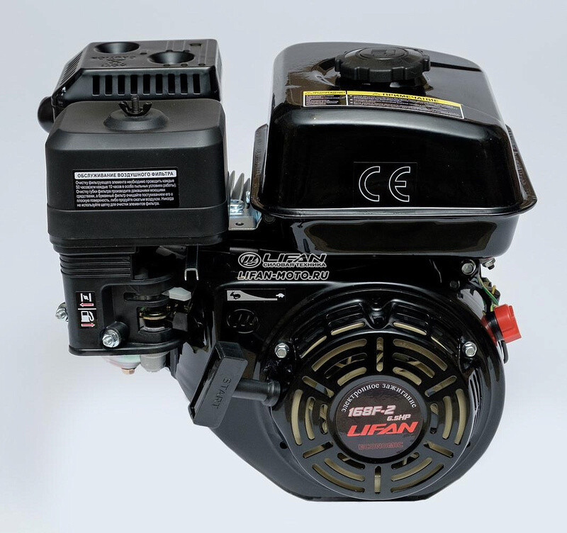 Двигатель Lifan 168F-2 ECO D19