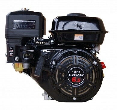 """Двигатель бензиновый """"Lifan"""" 168 F-2 (6,5 л.с., шк"""