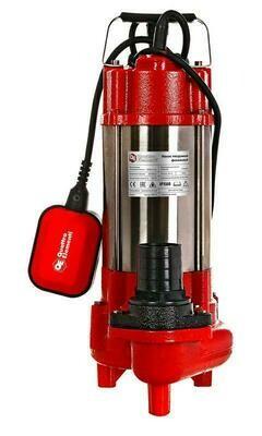 Насос фекальный QUATTRO ELEMENTI Sewage 500F Ci (500 Вт,16000 л/ч, для грязной, 12 м, 16,0 кг)910-157