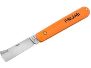 Нож прививочный с прямым лезвием Finland 1453