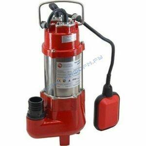 Насос дренажный QUATTRO ELEMENTI Sewage 250 F Ci (250Вт, 9000л/ч, фекальный, 7м, 9кг, чугун)771-763