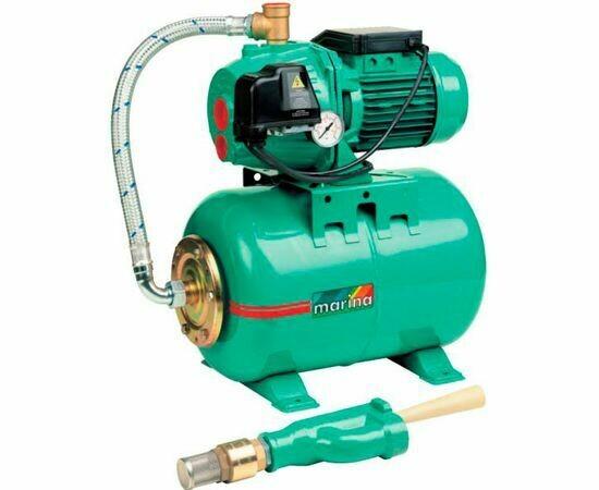 Насос MARINA АРМ 100/25  1100Вт, 40л/мин., 40м., инжекторный (установка водоснабжения) 6497