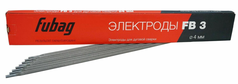 FUBAG Электрод сварочный с рутиловым покрытием FB 3 D4.0 мм (пачка 0.9 кг)