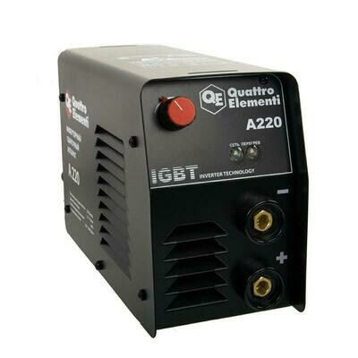 Аппарат электродной сварки, инвертор QUATTRO ELEMENTI A 220 (220 А, ПВ 60%, до 4.0 мм, 5.4 кг, 160-240 В)