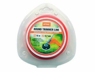 Леска д/триммеров Stihl 2,4ммх15м круглого сечения оранжевая 7028-871-0174