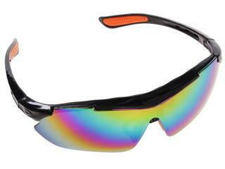 Очки защитные DDE темные (радуга)647-642