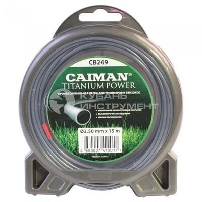 Леска проф. 2.5mm/15m Caiman Titanium Power  CB269