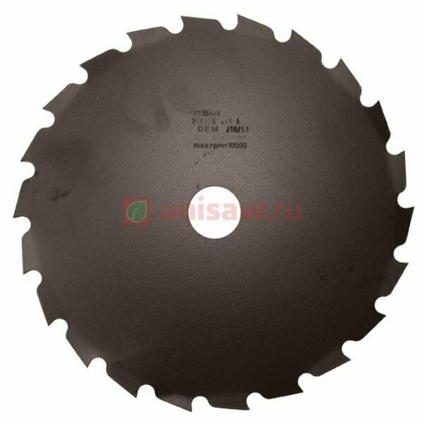 Диск кустореза  4095-666AR 22Т 200 мм/25,4 ОМ