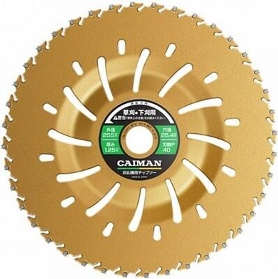 Диск CAIMAN с функцией отброса травы Yellow Shark 255/25.4/40P 0397С