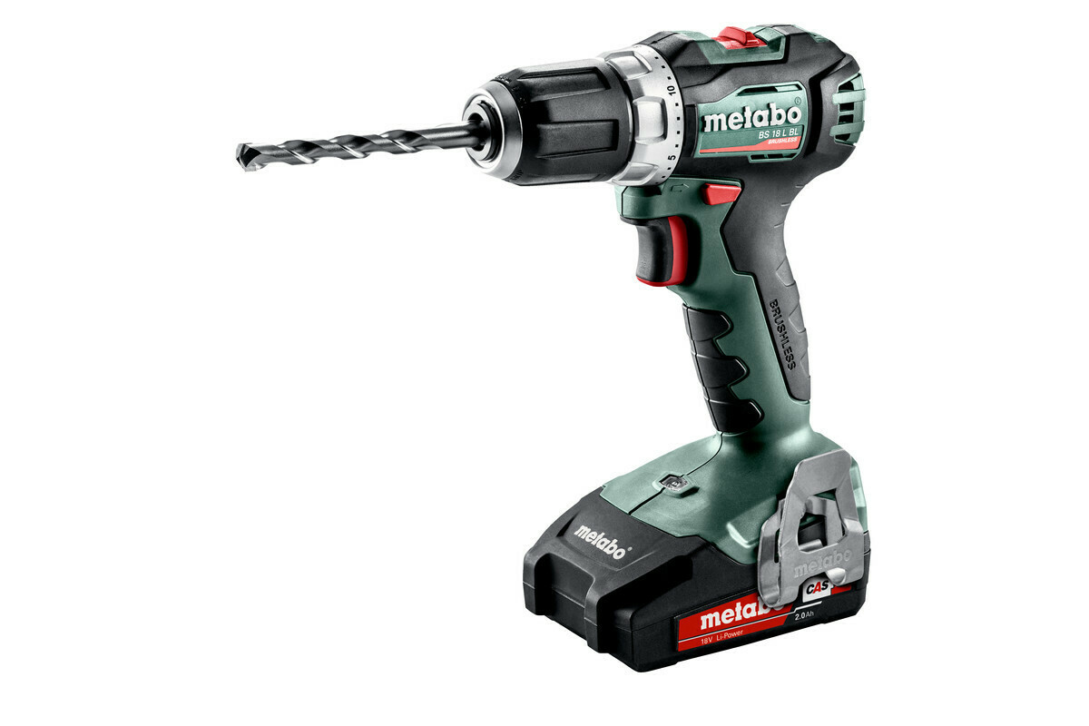 Ак. шуруповерт Metabo BS 18 L BL 2х2,0 LiLon, кейс