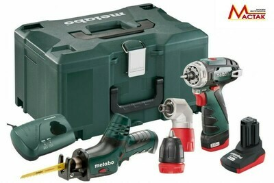 Набор Metabo Combo Set 2.2  10.8B BS Quick+ASE, 1х2.1, 1х4, УН